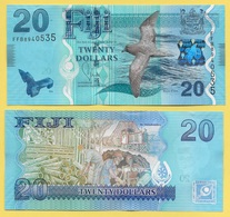 Fiji 20 Dollars P-117 2012 UNC - Fiji