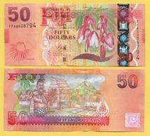 Fiji 50 Dollars P-118 2012 UNC - Fidji
