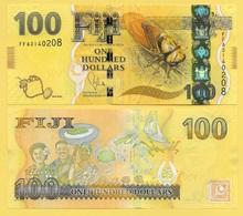 Fiji 100 Dollars P-119 2012 UNC - Fiji