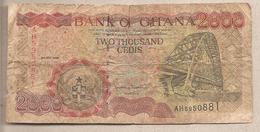 Ghana - Banconota Circolata Da 2000 Cedis P-33c - 1998 - Ghana