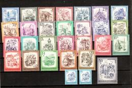 """Österreich 1973/78:  Landschaftsbilder """"Schönes Österreich"""" Kpl.Satz(siehe Scan/Foto) ANK 88,-€ - 1971-80 Unused Stamps"""