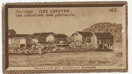 Image Pub Chocolat Suchard Lofoten Islands Morue Cod Fishermen Houses - Norway