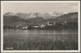 Gesamtansicht, Rapperswil, St Gallen, C.1930s - Photoglob Wehrli Vouga Foto AK - SG St. Gall
