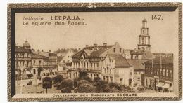 Image Pub Chocolat Suchard Lettonie Leepaja Libau Le Square Des Roses - Lettonie
