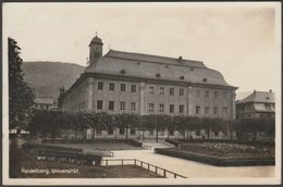 Universität, Heidelberg, Baden-Württemberg, C.1930s - Foto AK - Heidelberg