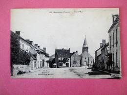 SOUMANS (Creuse) - Grand' Rue - Belle Perspective écrite - France