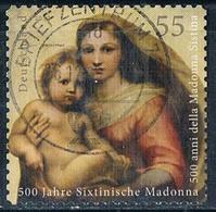 2012  500 Jahre Sixtinische Madonna (selbstklebend) - [7] République Fédérale