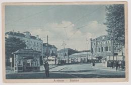 Arnhem - Station Met Tram - 1934 - Arnhem