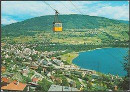 Panoramautsikt, Voss, Hordaland, 1987 - Normann Postkort - Norway