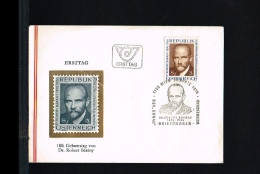 1976 - Austria FDC - Famous People - Nobel Prize Winners [FC002] - FDC