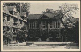 St Edmund Hall, Oxford, Oxfordshire, C.1940s - TVAP Oxford Series Postcard - Oxford