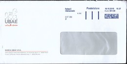 Italy 2015 / Bank - Banca UBAE / Machine Stamp - Marcophilie - EMA (Empreintes Machines)