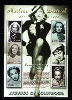 Ghana 2003 Sc # Bf 2362  MNH **  Marlene Dietrich - Film
