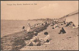 Thorpe Bay Beach, Southend On Sea, Essex, 1917 - Postcard - Southend, Westcliff & Leigh