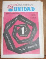 Unidad - Organo De Movimiento 24 De Abril - Revues & Journaux