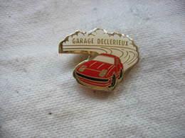 Pin's Auto Porsche 929, 911, 968, Garage DECLERIEUX à VILLEURBANNE (Dépt 69) - Porsche