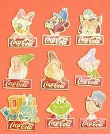 9 Pin's DISNEY COCA COLA .......... - Disney