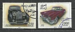 IRAQ 2014 - OLD AUTOMOBILES  - USED OBLITERE GESTEMPELT USADO - Iraq
