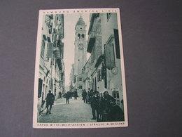 Hamburg America Linie , Hapag Telegramm Karte 1928 Dampfer Oceana In Messina - Deutschland