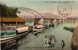 CPA Annam Hué- Pont Than Thai. VIETNAM Indochine (714693) - Vietnam