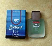 """Miniature """"ROCKFORD ICE """" De ATKINSONS  Eau De Toilette   6 Ml Dans Sa Boite (M076) - Miniatures Men's Fragrances (in Box)"""