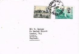 29245. Carta Aerea ADDIS ABEBA (Ethiopia) 1966. Haile Selassie - Etiopía