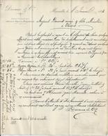 MARSEILLE DEVAUX GRAINS ANNEE 1883 A MR DOURIS MINOTIERS A THIERS - Non Classificati