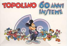 Topolino 60 Anni Insieme Disney Pluto Paperino Mini Paperone - Disneyland
