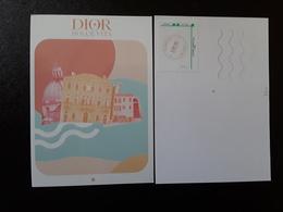 DIOR Carte Postale - Modern (from 1961)