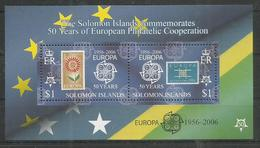 SOLOMON ISLANDS - MNH - Europa-CEPT - 50th Anniversary Of The First Stamps - 2006 - 2006