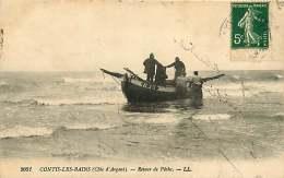 150718A - 40 CONTIS LES BAINS Retour De Pêche - Barque B15 Pêcheur - France