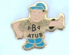 Pin's B ATUB - Personnage Pouce Levé - LTO - H196 - Trademarks