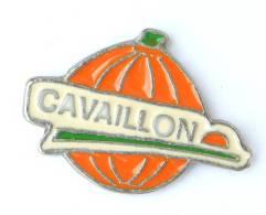 Pin's  CAVAILLON - Le Fameux Melon De Cavaillon  - Zamac - H220 - Food