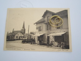 RAMONCHAMP Restaurant PARET18_13 - Autres Communes