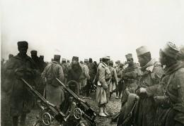 France WWI Sur Le Front Tirailleurs Marocains & Algiériens Ancienne Photo 1917 - War, Military