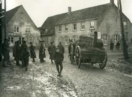 France WWI Village Quelque Part Sur Le Front De Flandres A La Tete D'Or Ancienne Photo 1917 - War, Military