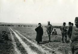 France WWI Marne Vouzy Fête De La Division Marocaine General Joffre Ancienne Photo 1914 - War, Military