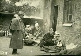 France WWI Marne Tirailleurs Algériens Blessés Ancienne Photo 1918 - War, Military