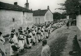 France WWI Marne Passage D'une Unité De Spahis Ancienne Photo 1917 - War, Military
