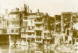 France Verdun? En Ruines Teinturerie Première Guerre Mondiale Ancienne Photo 1916 - War, Military