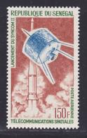 SENEGAL AERIENS N°   45 ** MNH Neuf Sans Charnière, TB (D7508) Cosmos, Télécommunications Spatiales 1964 - Sénégal (1960-...)