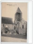 MONTCHAUVET - Le Clocher - 6 Décembre 1909 - Très Bon état - Autres Communes