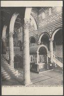 Basilica Di San Miniato Al Monte, Firenze, Toscana, C.1920 - Alinari Foto Cartolina - Firenze (Florence)