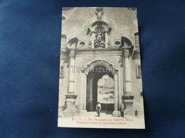 Monasterlo De Santas Creus Puerta De La Plaza De La Clausura Exterior - Corrida