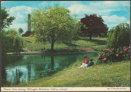 Phoenix Park Showing Wellington Monument, Dublin, C.1970s - John Hinde Postcard - Dublin