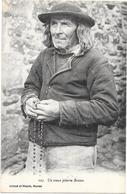 BRETAGNE -  Un Vieux Pèlerin Breton - BORD** - - Bretagne