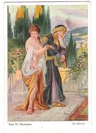 Gemälde - Painting - Karl H. Neumann - Die Sklavin - Nude Femme - Paintings