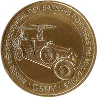 95 OSNY MUSÉE DES SAPEURS POMPIERS DU VAL D'OISE MÉDAILLE MONNAIE DE PARIS 2018 JETON MEDALS TOKEN COINS - Monnaie De Paris