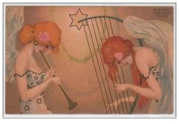 "KIRCHNER Raphaël : """"""""Noël"""""""" En 1903 - Bon état ( Léger Défaut Au Dos ) - Kirchner, Raphael"