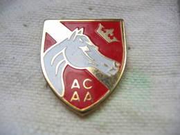 Pin's ACAA (Association D'Eleveurs De Chevaux Arabes D'Alsace Pur-sang Et Demi Sang) - Animals